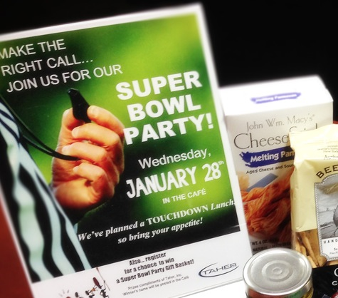 January Super Bowl Party Promotion!